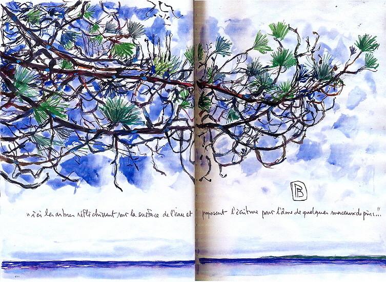 """Philippe Brobeck - """" Quelques morceaux de pins"""""""