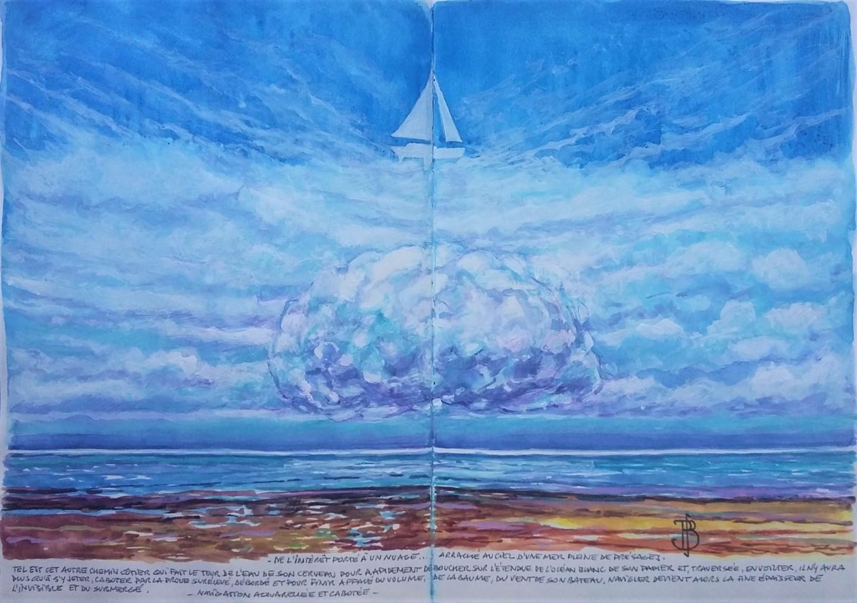 "Philippe Brobeck - "" La mer de présages """