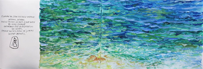 """Philippe Brobeck - """" voix d'eau 21 """""""