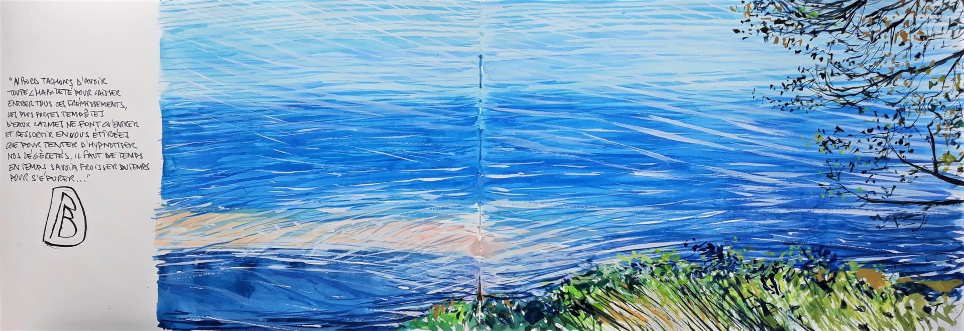 """Philippe Brobeck - """" voix d'eau 27 """""""