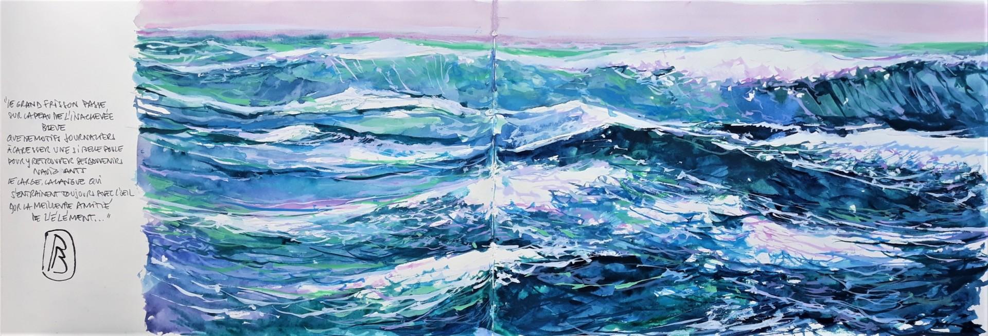 """Philippe Brobeck - """" voix d'eau 33 """""""