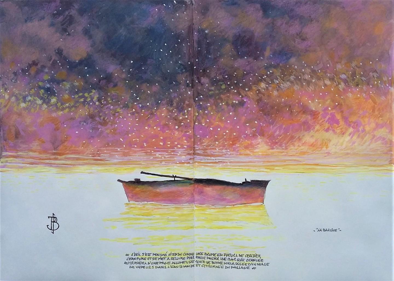 """Philippe Brobeck - """" la barque"""""""