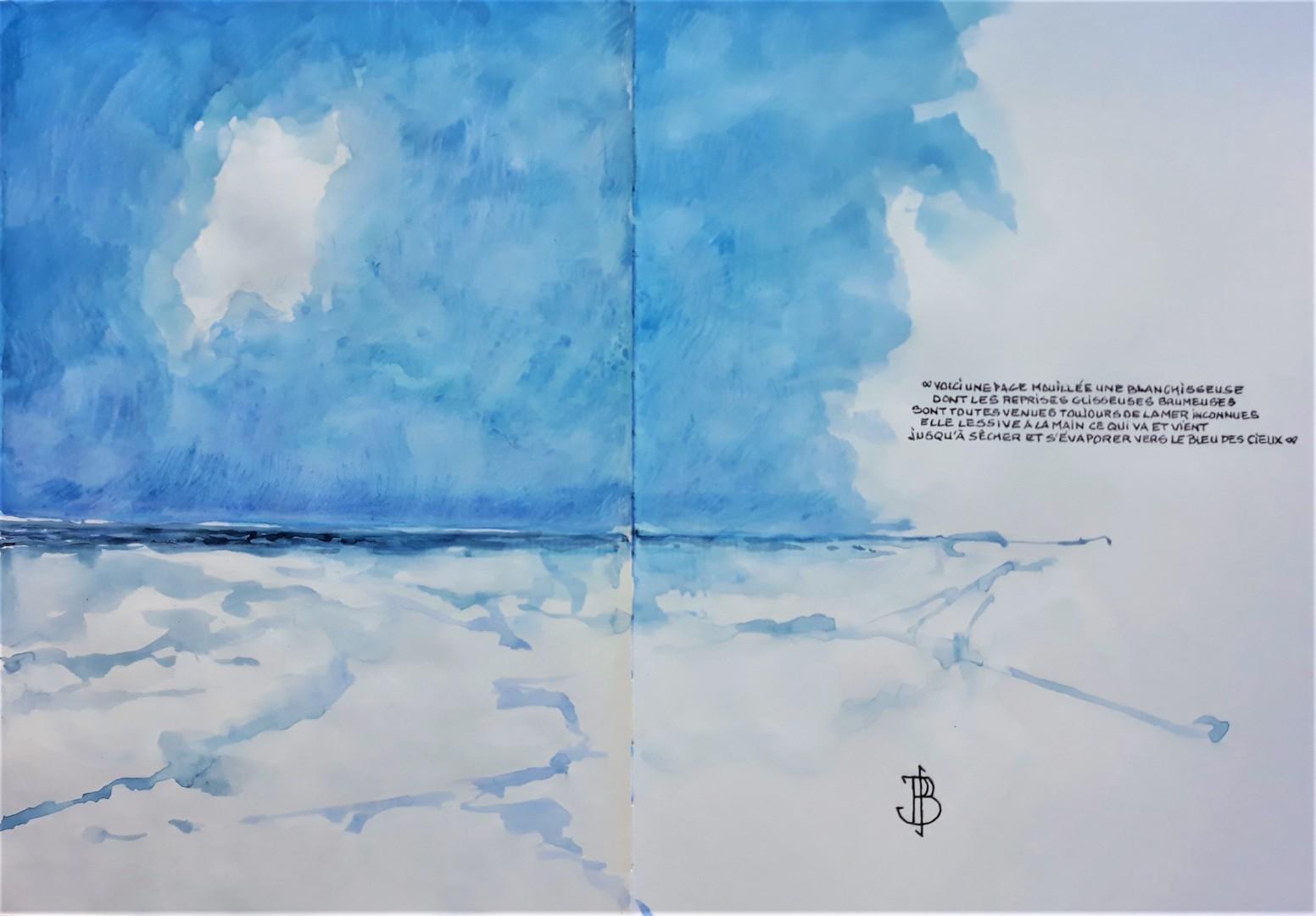 "Philippe Brobeck - "" une page mouillée """