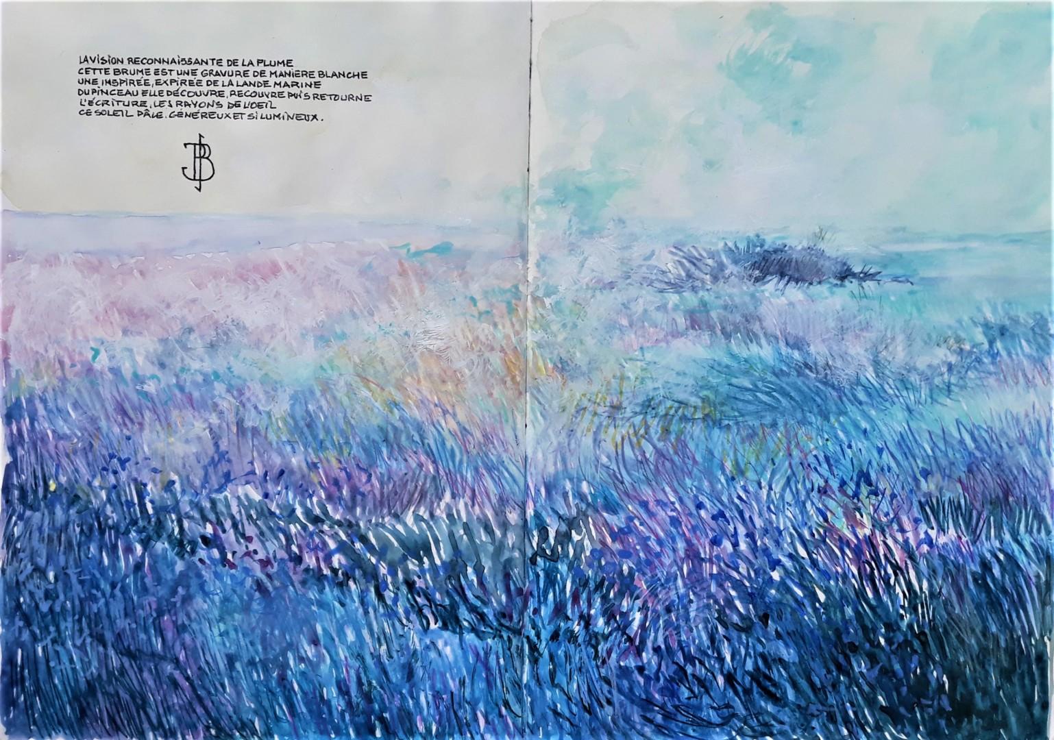 """Philippe Brobeck - """" La vision de la plume """""""