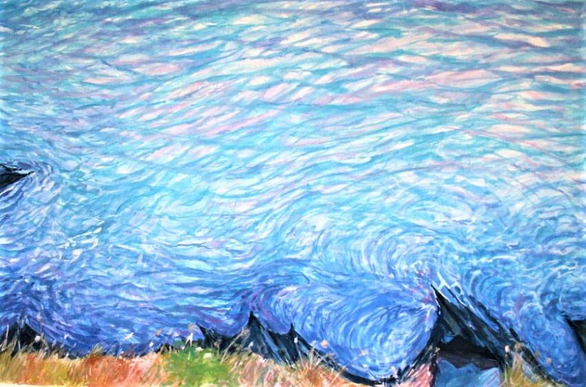 "Philippe Brobeck - "" Au bord du bleu Ajaccio """