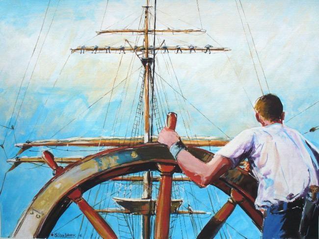 Philippe Brobeck - à la roue