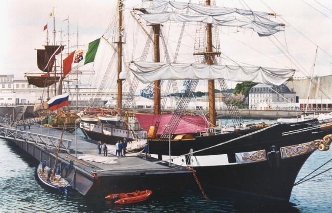 Philippe Brobeck - voilier Palinuro Brest 2000