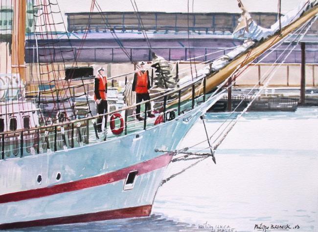Philippe Brobeck - voilier Iskra Le Havre