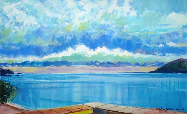 Philippe Brobeck - Après la pluie Agay