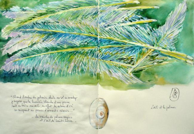 Philippe Brobeck - l'oeil et les palmes coupées