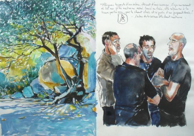 Philippe Brobeck - l'arbre de la caverne