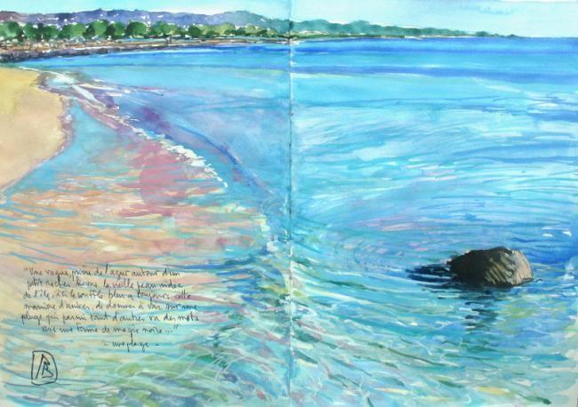 Philippe Brobeck - une plage
