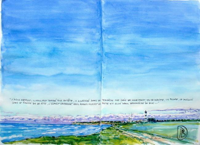"Philippe Brobeck - ""Le phare cerclé"""