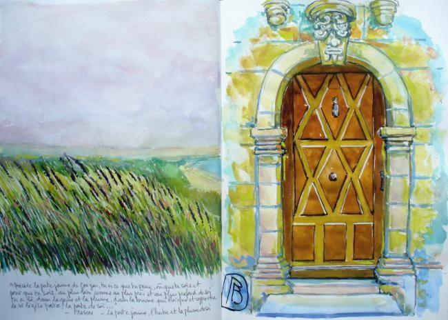 """Philippe Brobeck - """"Poussée la porte jaune de Crozon..."""""""