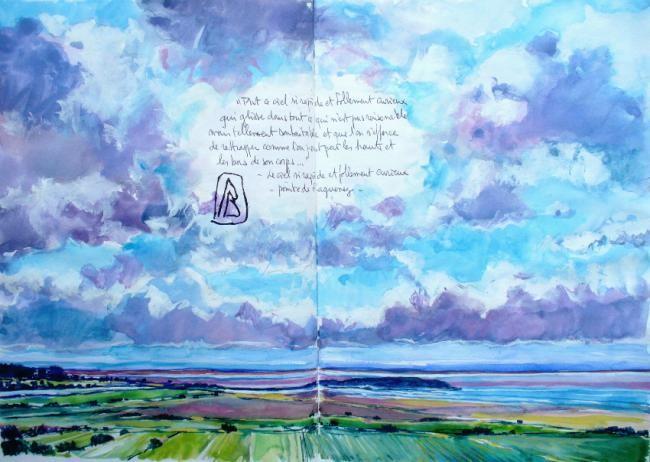 "Philippe Brobeck - ""Tout ce ciel si rapide..."""