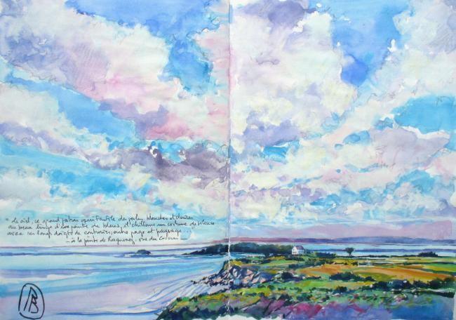"""Philippe Brobeck - """"Le ciel ce grand patron qui faufile..."""