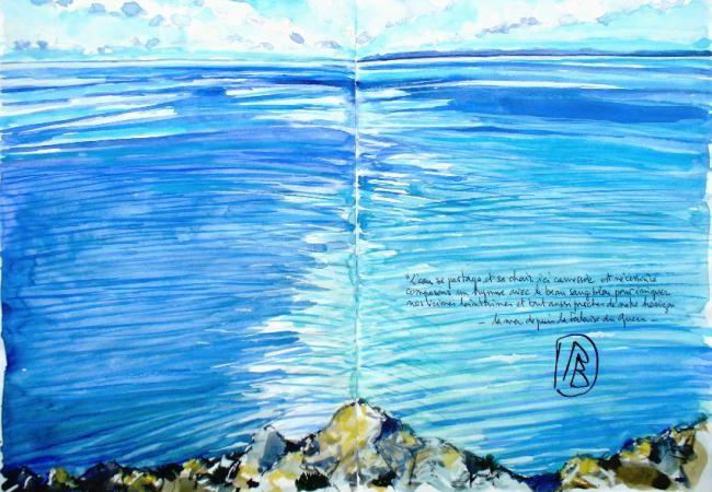 """Philippe Brobeck - """"L'eau se partage..."""""""