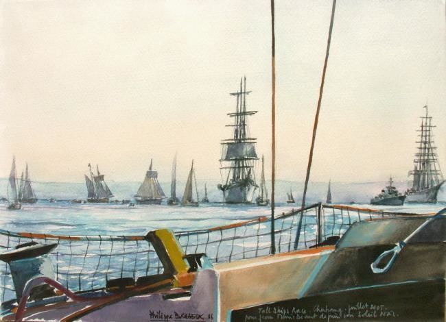 "Philippe Brobeck - ""tall ship race Cherbourg"""