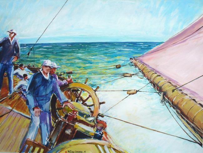 """Philippe Brobeck - """"au près tribord amures"""""""