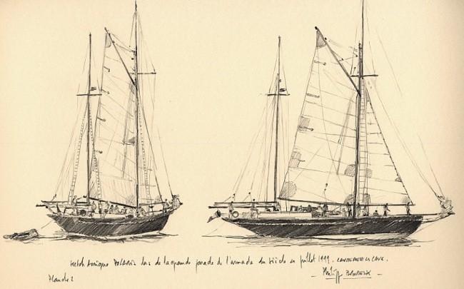 "Philippe Brobeck - ""ketch aurique Polaris"""