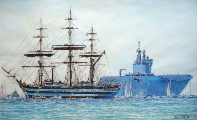 "Philippe Brobeck - "" BPC Tall Ship Race Toulon """