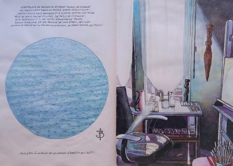 """Philippe Brobeck - """"Clin d oeil à la-pluie et au rayon d 'atelier"""""""
