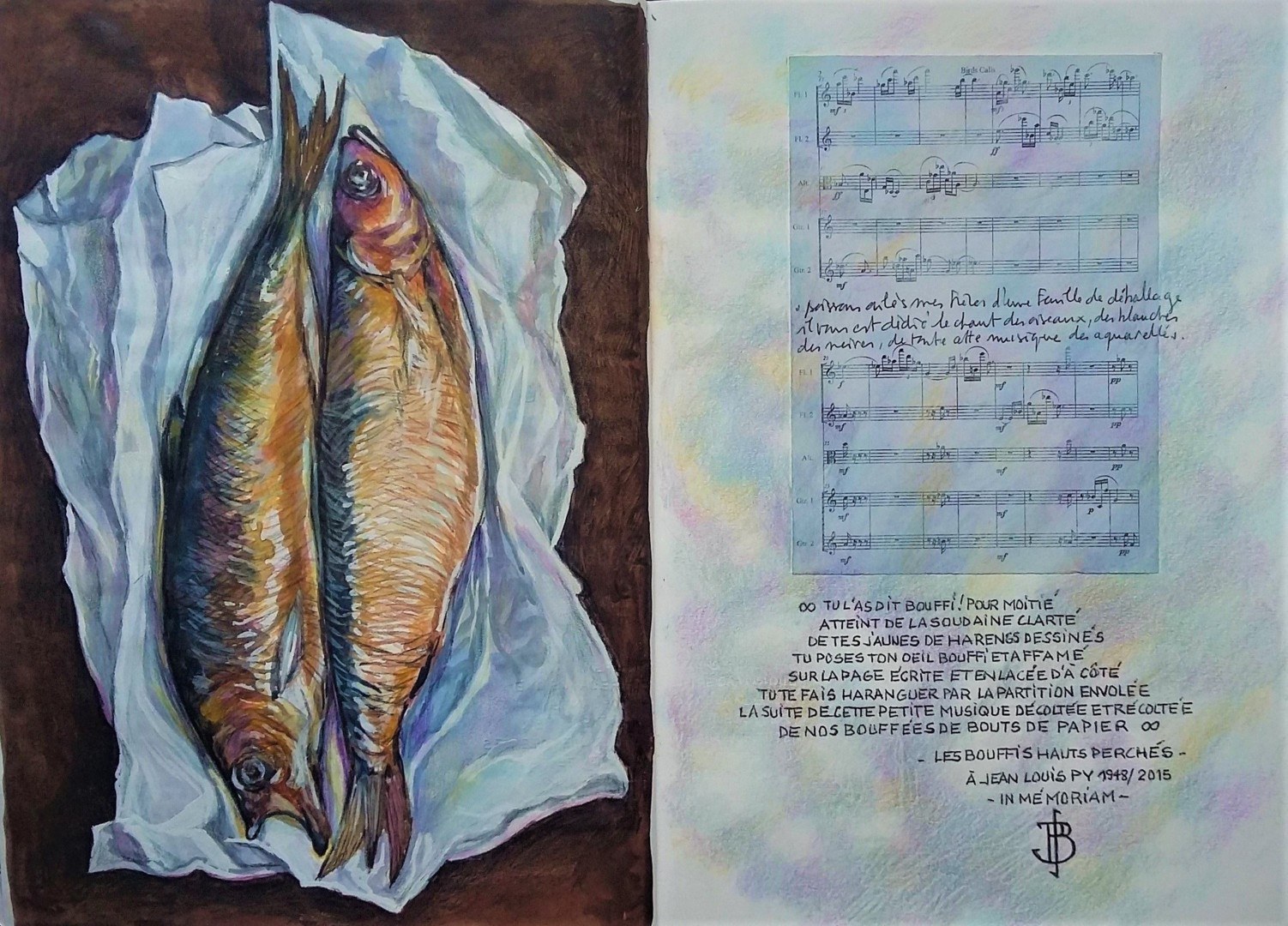 "Philippe Brobeck - ""Les bouffis hauts perchés"""