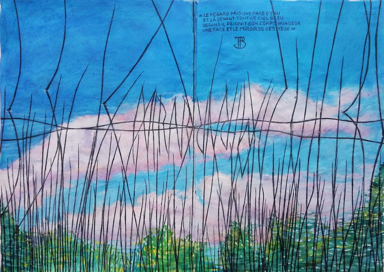 "Philippe Brobeck - "" Une page d'eau -mirare """