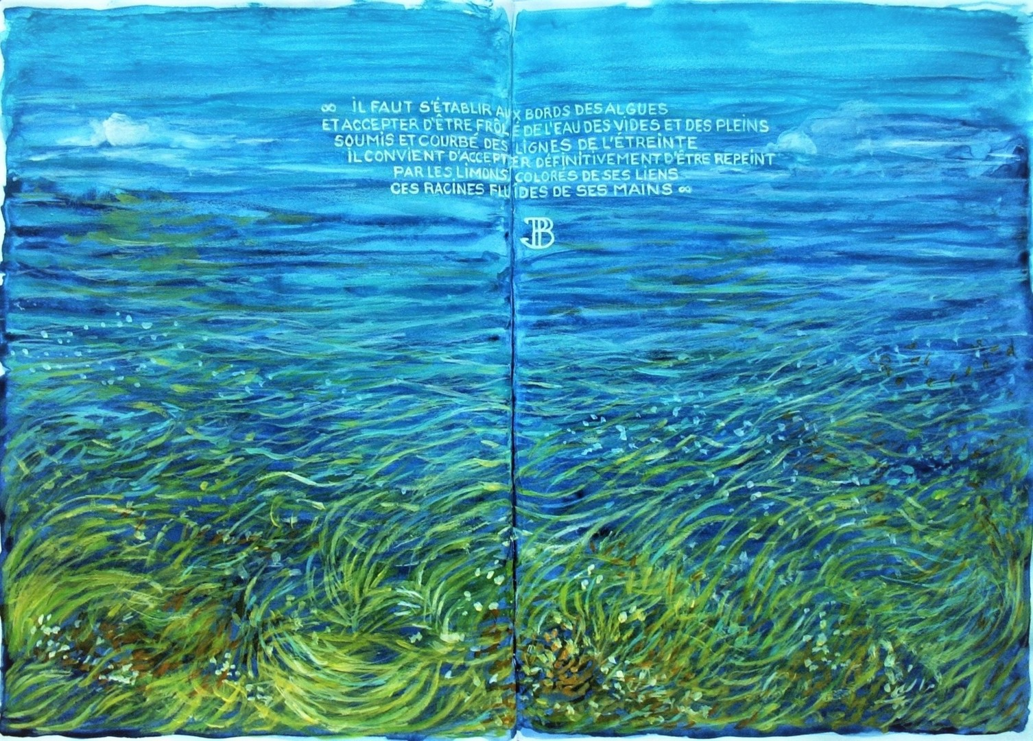 """Philippe Brobeck - """" Les algues """""""