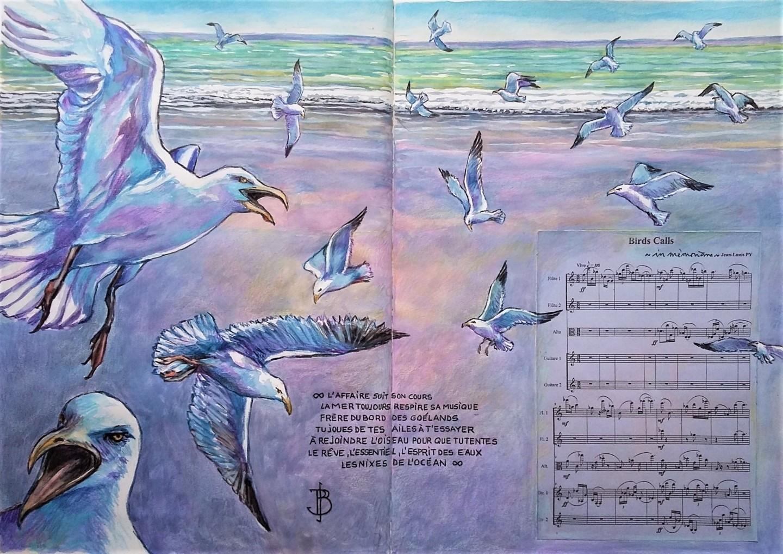 "Philippe Brobeck - "" Birds Calls"""