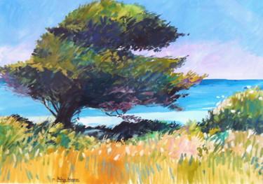 """"""" L' arbre sur la falaise Dieppe"""""""