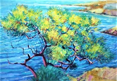 """ L'arbre au bord """