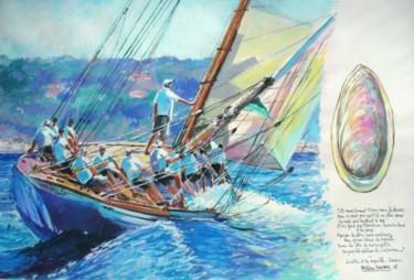 le voilier et la coquille