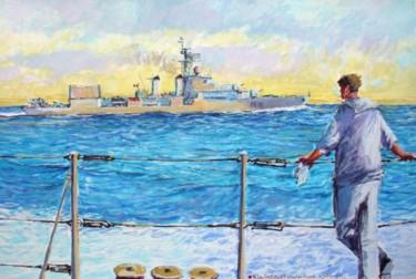l'escorteur d'escadre la Galissonnière à la mer