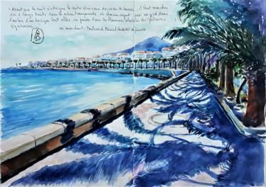 les palmiers en marchant Ajaccio