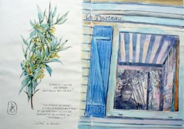 """""""Autoportrait dans la cabane du tourteau, la Cotinière..."""""""