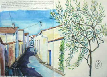 """"""" L'arbre et la rue du Château..."""""""