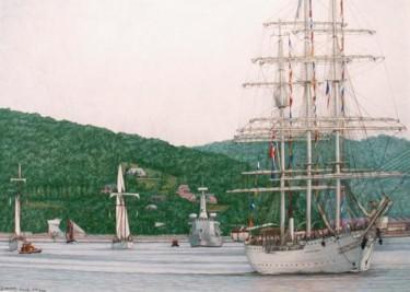 """navires sur la Seine"""