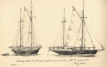 """ketch aurique Polaris"""