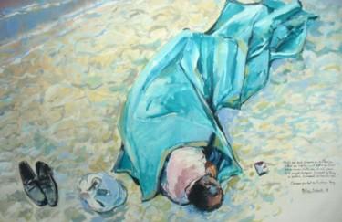 """""""l'homme qui dort sur la plage Agay"""""""