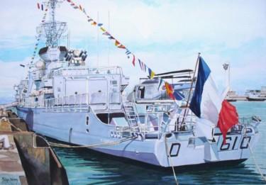 """""""la frégate Tourville au Havre"""""""