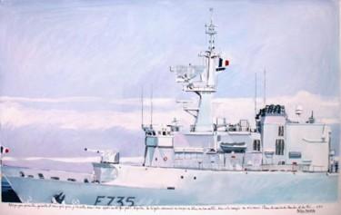 """""""la frégate Germinal à quai Toulon"""""""