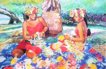 """""""Tahitiennes aux fleurs"""""""