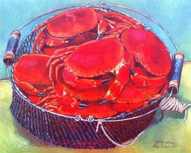 le panier de crabes rouges