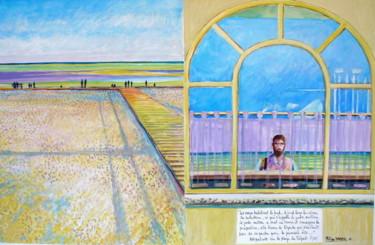 Autoportrait au milieu Le Tréport