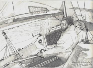 Autoportrait à la barre du first class