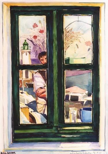 Autoportrait a la fenêtre Ré