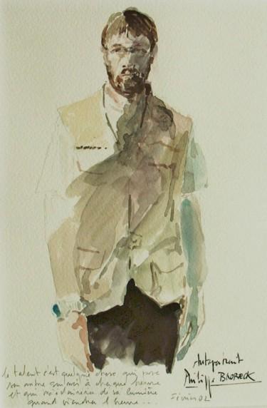 autoportrait à l 'ombre