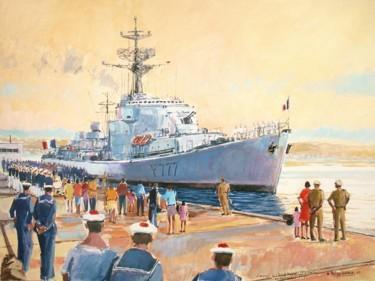 l'arrivée du Provençal à Toulon septembre 1972