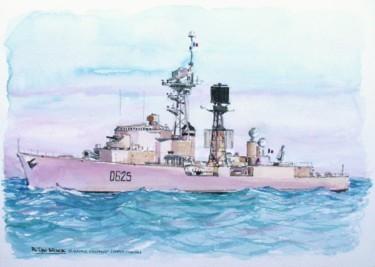 L' escorteur d'escadre Dupetit- Thouars à la mer